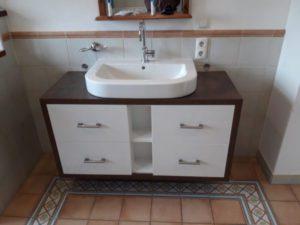 Badmöbel Waschtisch Tischlerei Topper