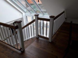 Treppenabgang und Geländer Tischlerei Topper Lengerich